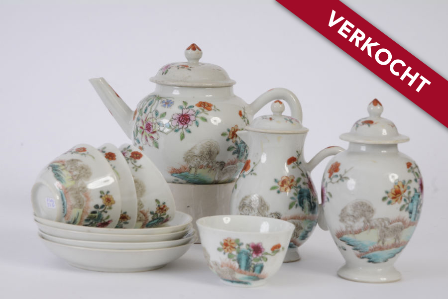 Chinees porselein servies